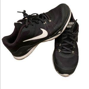 Nike training flex TR 5 black running shoes